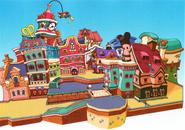 Disney Town- Raceway (Art) KHBBS