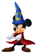 Mickey Mouse- Sorcerer Outfit KH3D