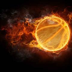 Balón de basketball: Xkkryb al lanzar el balón, el balón sale volando a toda velocidad sacando llamas, el balón derriba facilmente a su enemigo.