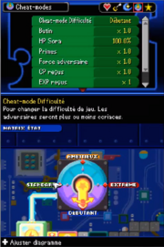 Cheat-mode Difficulté KHR