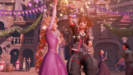 Rapunzel and Sora