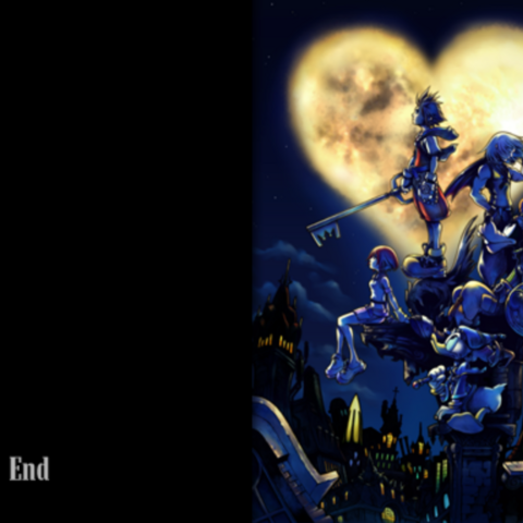 The End en <i>Kingdom Hearts</i>.