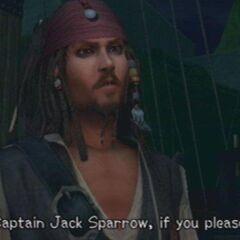 Jack Sparrow hablando