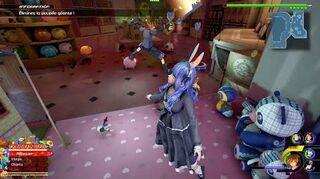 Kingdom Hearts III Expert Combat contre l'Ambre angélique