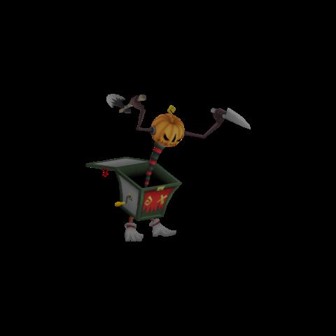 La forma de Calabaza de Halloween de Soldado de Plomo
