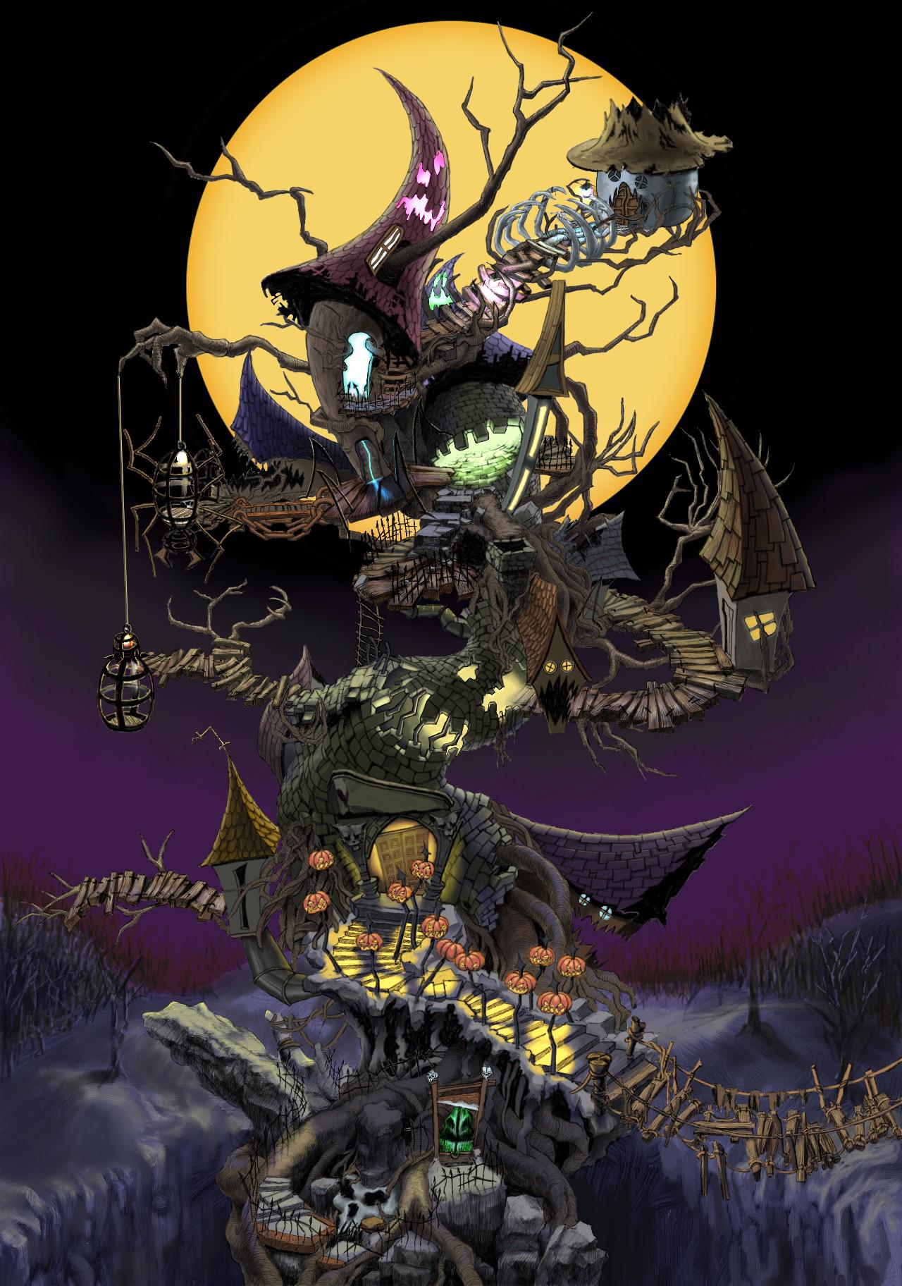 Oogie\'s Manor | Kingdom Hearts Wiki | FANDOM powered by Wikia
