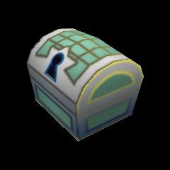 Un cofre pequeño que aparece en Espacio Paranoico
