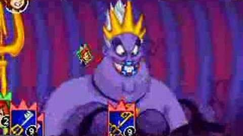 Kingdom Hearts Chain of Memories - Ursula (Sora)