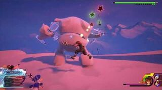 Kingdom Hearts III Re Mind Handicap Combat contre Guimauve