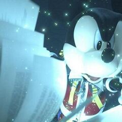 Mickey en el opening de KH3D