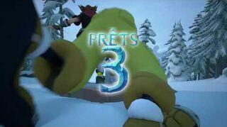 Kingdom Hearts III Luge alpine trésors