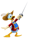 Donald Duck- Musketeer Outfit KH3D