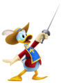 Donald Duck- Musketeer Outfit KH3D.png