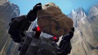 Kingdom Hearts III Expert Combat contre le Titan de Roche