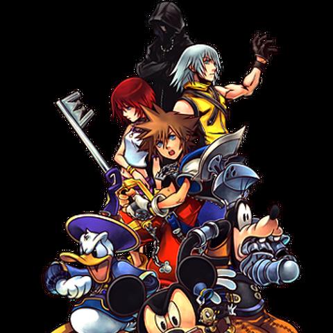 Artwork de los principales personajes del juego