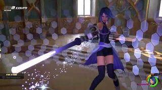 Kingdom Hearts III Critique Combat contre Vanitas