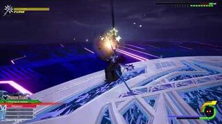 Kingdom Hearts III Re Mind Combat contre Saïx (Limitcut)
