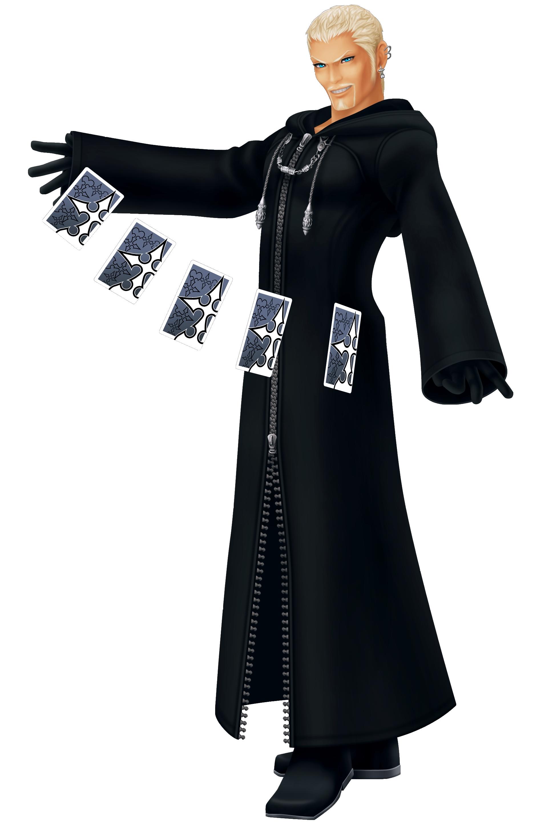 Luxord Kingdom Hearts Wiki Fandom Powered By Wikia