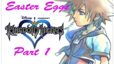 Easter Egg Hunt- Kingdom Hearts 1 The Secret Place and Sora's Weight