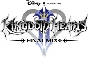Kingdom Hearts II Final Mix+ Logo KHIIFM