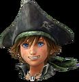 Sora (Pirate) Portrait - Forme véloce KHIII