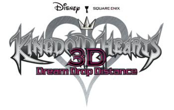Kingdom Hearts Dream Drop Distance Logo KH3D