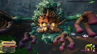 Kingdom Hearts III Critique Combat contre la Marâtre funeste