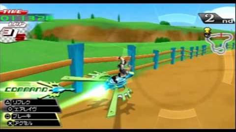 Kingdom Hearts Birth By Sleep -0211- Rumble Racing (Ventus)