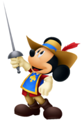 Mickey Mouse- Musketeer Outfit KH3D