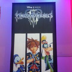 Póster de <i>Kingdom Hearts III</i> en el E3 2013