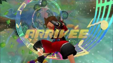 Kingdom Hearts 3D Dream Drop Distance HD Mode Transition Symphonie du Sorcier (Sora)