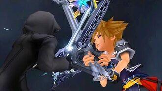 Kingdom Hearts 2 Sora vs Roxas Boss Fight (PS3 1080p)
