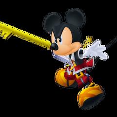Mickey con su llave espada