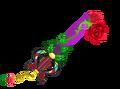 Rose éternelle forme 4 KHχ