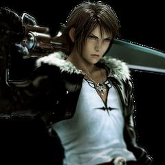 León en Dissidia 012 Final Fantasy.