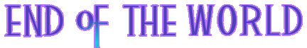 End of the World Logo KH