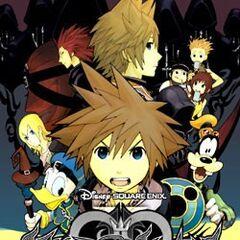 Antigua cubierta española del volumen 2 del manga de <i>Kingdom Hearts II</i>