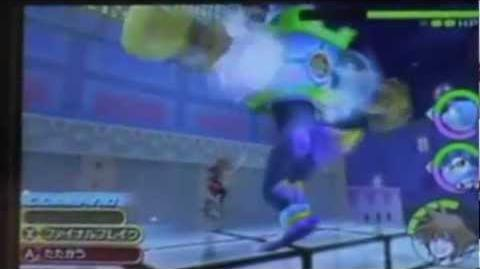 Kingdom Hearts 3D Dream Drop Distance Sora Demo