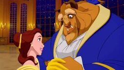 Bella y Bestia Disney 1991