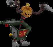 Toy Soldier Pumpkin Form
