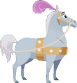 Cheval de Cendrillon KHUX