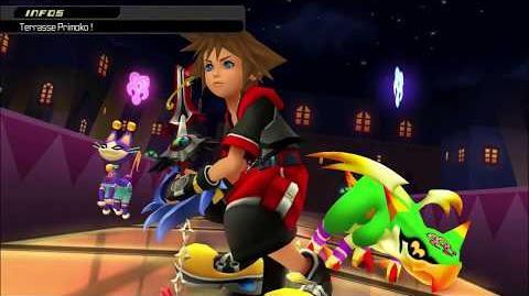 Kingdom Hearts 3D Dream Drop Distance HD Portails secrets - Combat contre Primoko (Sora)