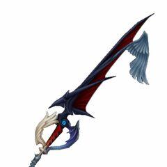Camino del Alba del Reino del de la Oscuridad (aunque nunca se la vio portarla, su maestro, Rexies, dijo que es tan habil con la Llave Espada, que puede portar 2 a la vez)