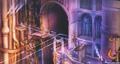 Hollow Bastion- Castle Gates (Art) KHI