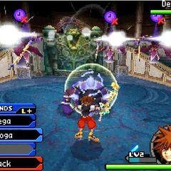 Paro en <i>Kingdom Hearts Re:coded</i>.