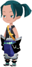 Keyblade Wielder (Casual Blue - Ponytail) KHX