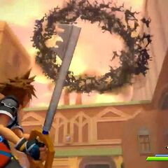Sora contra los <a href=