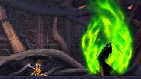 Kingdom Hearts Re Coded Maleficent Dragon boss fight