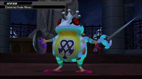 Kingdom Hearts 3D Dream Drop Distance HD Combat contre Prince Coa (1)