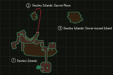 Minimap (Destiny Islands) KHREC